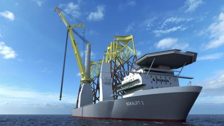 Huisman to deliver giant crane for BOKALIFT 2