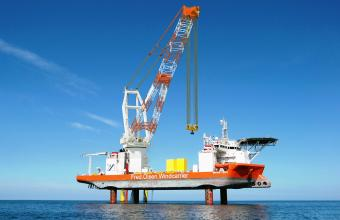 Huisman signs contract with Fred. Olsen windcarrier for a 1,600mt Leg Encircling Crane