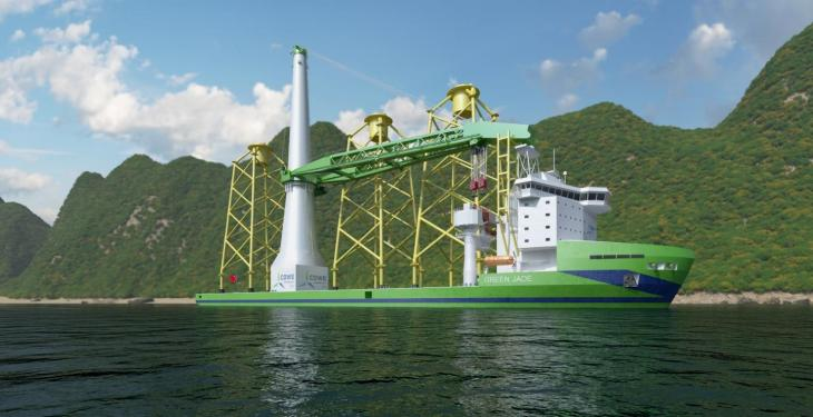 Huisman to deliver high-tech Offshore Mast Crane for wind turbine installation in Taiwan