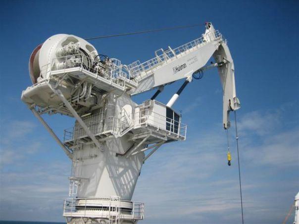 Small Knuckle Boom Crane : Knuckle boom cranes huisman equipment