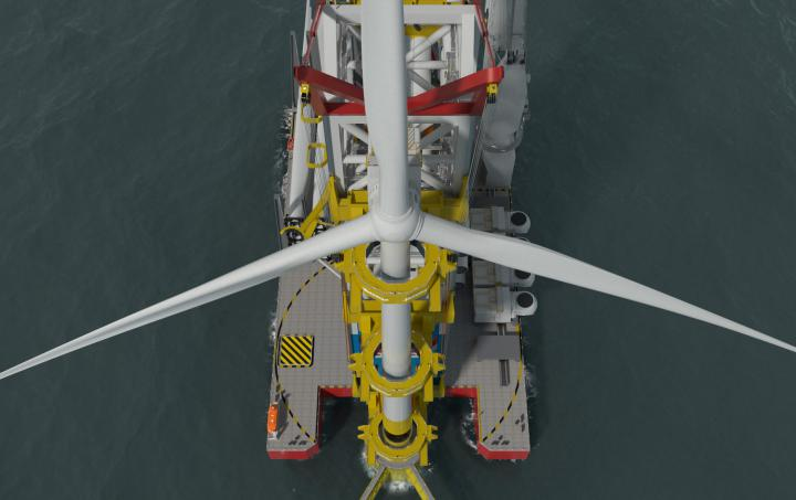Windfarm Installation Vessel
